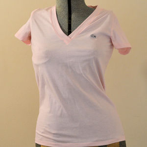 Lacoste Pink T-Shirt